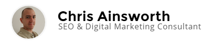 Chris Ainsworth Logo