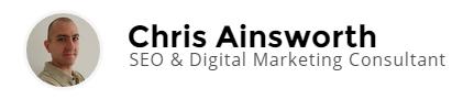 Chris Ainsworth Logo