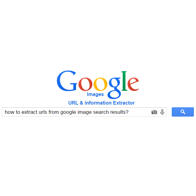 Image Search URL & Info Extractor